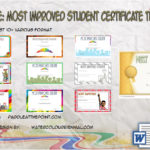 Most Improved Student Certificate Templates By Paddle