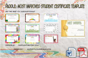 Most Improved Student Certificate Printable – 10+ Best Ideas