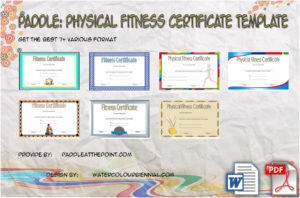 Physical Fitness Certificate Templates
