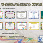 Pre Kindergarten Certificate Templates By Paddle