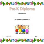 Pre Kindergarten Diploma Certificate 2