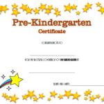 Pre Kindergarten Diploma Certificate 4