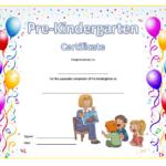 Pre Kindergarten Diploma Certificate 8