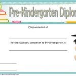 Pre Kindergarten Diploma Certificate 9 New
