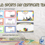 Sports Day Certificate Templates By Paddle