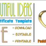 The 10 Best Ideas Of Marriage Certificate Template Free By Paddle