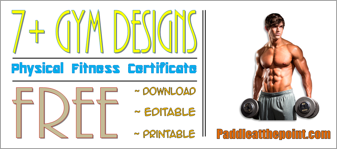 physical fitness certificate in word format, physical education certificate templates, physical fitness certificate for education, physical fitness and health certificate