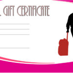 Travel Gift Certificate Template 4