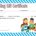 Travel Gift Certificate Template 6