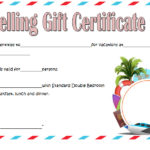 Travel Gift Certificate Template 7