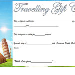 Travel Gift Certificate Template 8