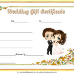 Wedding Gift Certificate Template 3