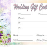 Wedding Gift Certificate Template 5