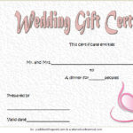 Wedding Gift Certificate Template 7