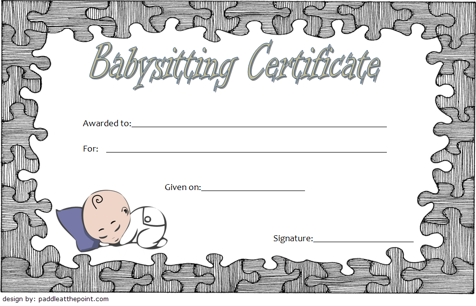 babysitting certificate template, babysitting voucher template printable, babysitting course certificate template, editable babysitting coupon, babysitter certificate template, date night certificate template, babysitting coupons for new mom, iou babysitting voucher