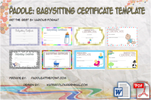 Babysitting Certificate Template