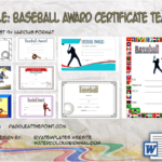 baseball award certificate template, free baseball award certificate template word, sports certificate template, blank baseball certificate templates, sportsfest certificate template, end of season award ideas, middle school baseball team