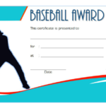 Baseball Award Certificate Template – 9+ Best Designs FREE