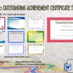 Outstanding Achievement Certificate Template By Paddle