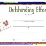 Outstanding Effort Certificate 3