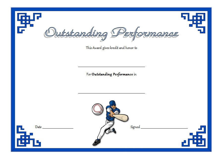 outstanding performance certificate template, excellent performance certificate template, music performance certificate template, performance award certificate template, best performance of the year certificate template