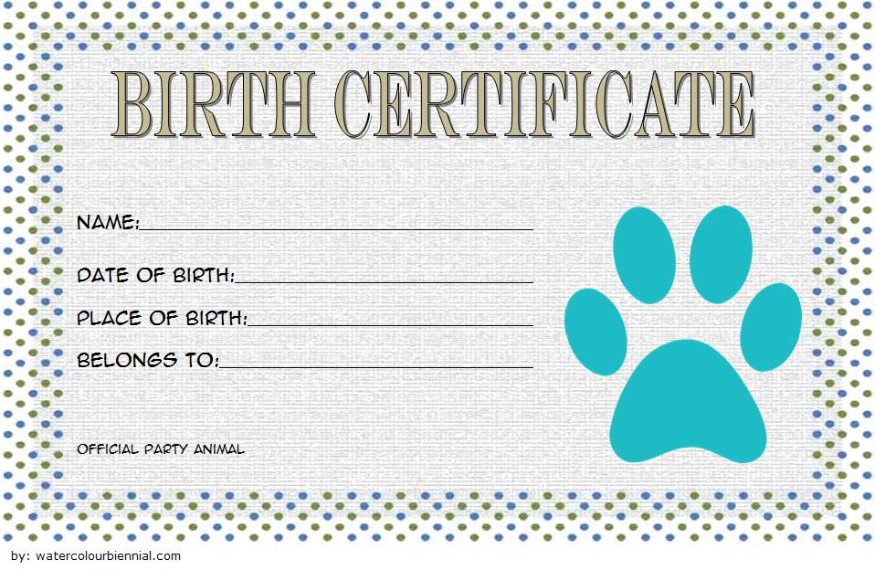 stuffed animal birth certificate template, printable stuffed animal birth certificate