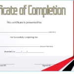 Training Course Certificate Template 10
