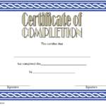 Training Course Certificate Template 8