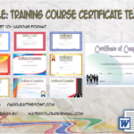 Training Course Completion Certificate Template By Paddle