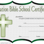 VBS Certificate Template – 8+ Latest Designs FREE DOWNLOAD