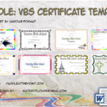 VBS Certificate Template By Paddle