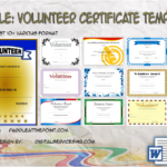 Volunteer Certificate Templates By Paddle