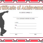Bowling Certificate Template 6