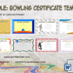 Bowling Certificate Template By Paddle