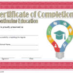 CEU Certificate Template: 7+ Super Educational Designs
