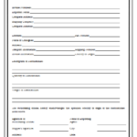 Certificate Of Origin Template 1