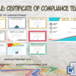Compliance Certificate Template By Paddle