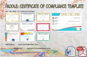 Certificate of Compliance: 10+ Latest Template Designs