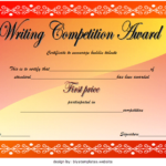 Contest Winner Certificate Template: 30+ Unexplored Designs