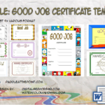 Good Job Certificate Template By Paddle