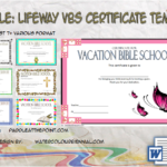 Lifeway VBS Certificate Template By Paddleatthepoint.com