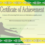 Martial Arts Certificate Template 5