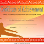 Martial Arts Certificate Template 6