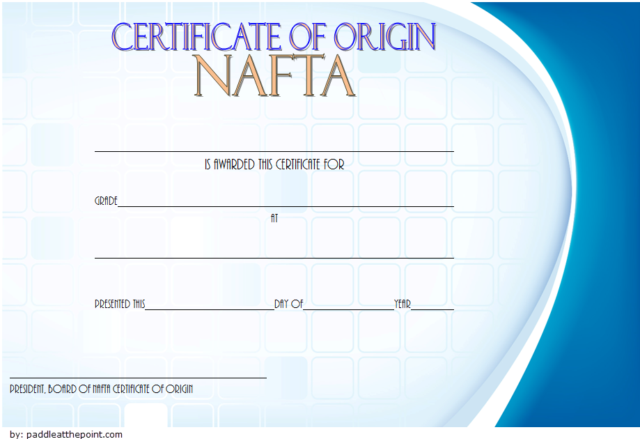 certificate of origin template usa, certificate of country of origin template, certificate of origin form a template, u.s. certificate of origin template, certificate of origin template australia, certificate of origin template uk, nafta certificate of origin template 2018, north american free trade agreement certificate of origin template, manufacturer certificate of origin for trailer template