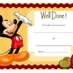 Well Done Certificate Template 6