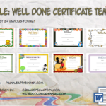 Well Done Certificate Template By Paddle