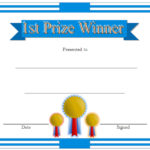 Winner Certificate Template 1