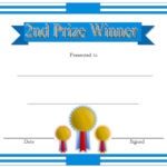 Winner Certificate Template 2