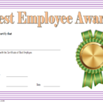 Best Employee Certificate Template – 10+ Freshest Designs
