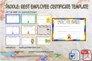 Best Employee Certificate Template – 10+ Freshest Designs